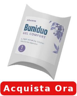 buniduo gel comfort ingredienti